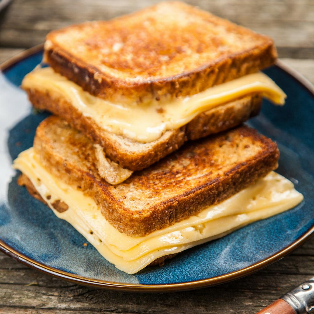 keto grilled cheese cauliflower recipe